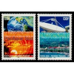 Timbre Polynésie n°717 et 718
