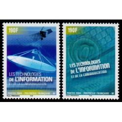 Timbre Polynésie n°719 et 720