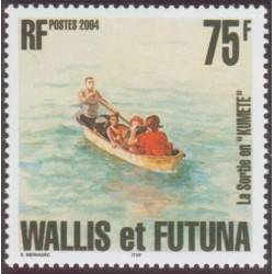 Timbre Wallis et Futuna n°615