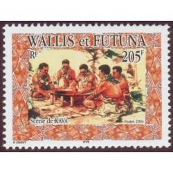 Timbre Wallis et Futuna n°617