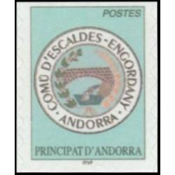 Timbre Andorre Français n°575
