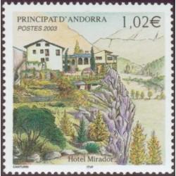 Timbre Andorre Français n°579