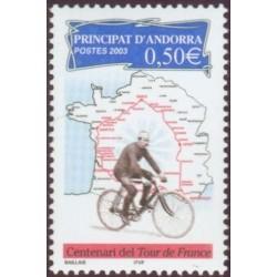 Timbre Andorre Français n°582