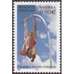 Timbre Andorre Français n°583