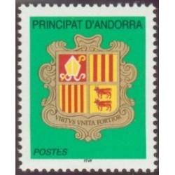 Timbre Andorre Français n°588