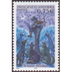 Timbre Andorre Français n°589