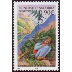 Timbre Andorre Français n°590