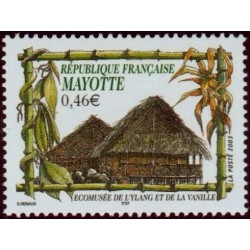 Timbre Mayotte n°140