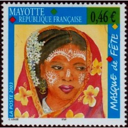 Timbre Mayotte n°142