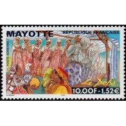 Mayotte Poste Aérienne n°4