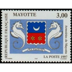 Timbre Mayotte n°43