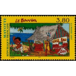 Timbre Mayotte n°45