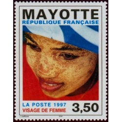 Timbre Mayotte n°47