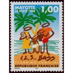 Timbre Mayotte n°54