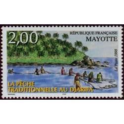 Timbre Mayotte n°59