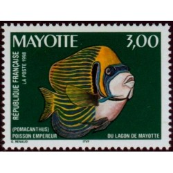 Timbre Mayotte n°60