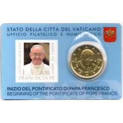 Stamp and Coin Card 2013