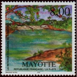 Timbre Mayotte n°70
