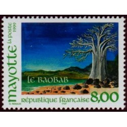 Timbre Mayotte n°75