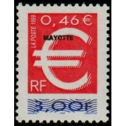 Timbre Mayotte n°77