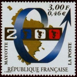 Timbre Mayotte n°80