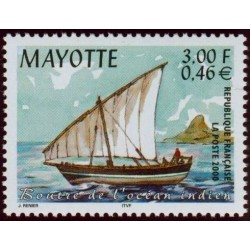 Timbre Mayotte n°81