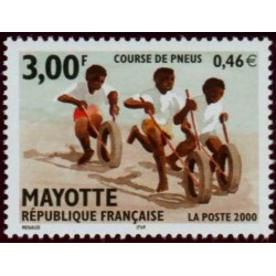 Timbre Mayotte n°88