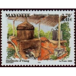 Timbre Mayotte n°90