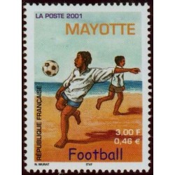 Timbre Mayotte n°101
