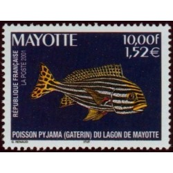 Timbre Mayotte n°102