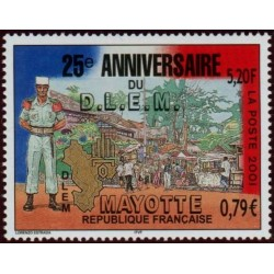 Timbre Mayotte n°103