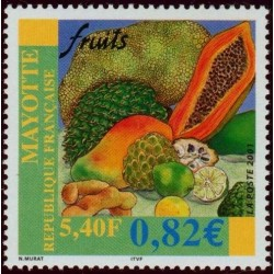 Timbre Mayotte n°106