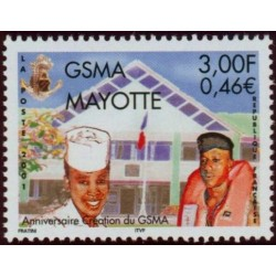 Timbre Mayotte n°108