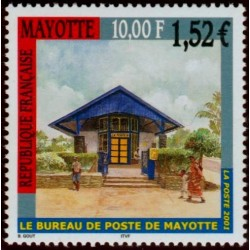 Timbre Mayotte n°109