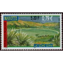 Timbre Mayotte n°110