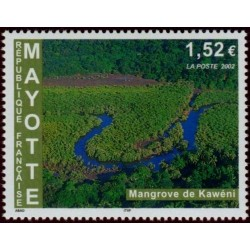 Timbre Mayotte n°129