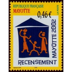 Timbre Mayotte n°132
