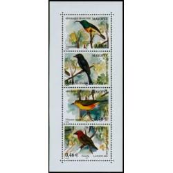 Timbre Mayotte n°134 à 137