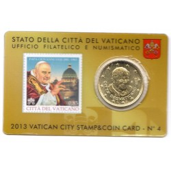 Stamp and Coin Card n°4 2013