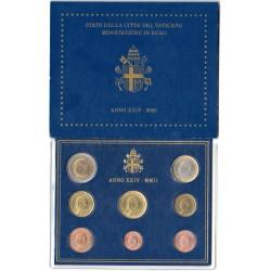 Coffret BU Vatican 2002