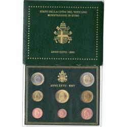 Coffret BU Vatican 2005