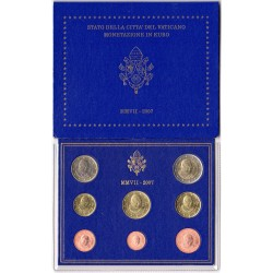 Coffret BU Vatican 2007
