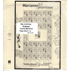 Jeu France Feuille Marianne...