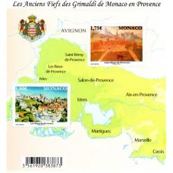 Timbre Monaco n°2778 et 2779