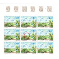 Variétés Timbre France 2136