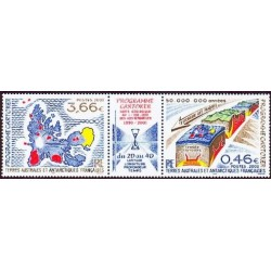 Timbres TAAF n°336 et 337