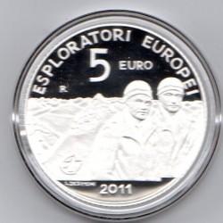 Coffret BE 5€ argent Saint...
