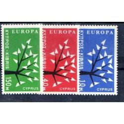 Timbres Europa Chypre 1962