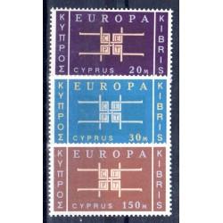 Timbres Europa Chypre 1963