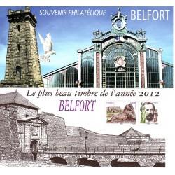 Bloc souvenir n°89 Belfort
